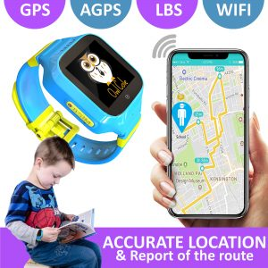 User Manual – OwlCole smart watches for kids